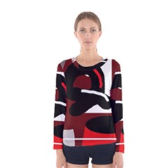 Crazy abstraction Women s Long Sleeve Tee