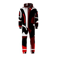 Crazy abstraction Hooded Jumpsuit (Kids)