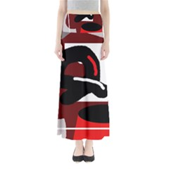 Crazy Abstraction Maxi Skirts