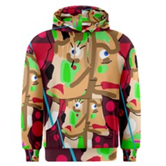 Abstract animal Men s Pullover Hoodie