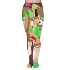 Abstract animal Women s Tights
