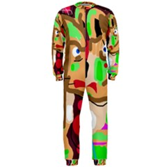 Abstract animal OnePiece Jumpsuit (Men)
