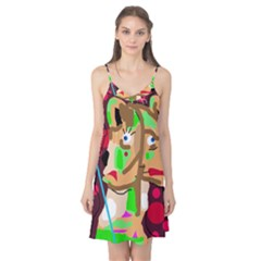 Abstract animal Camis Nightgown