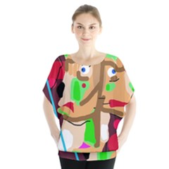 Abstract animal Blouse