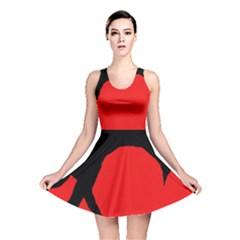 Black raven Reversible Skater Dress