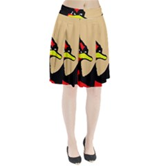 Angry Bird Pleated Skirt
