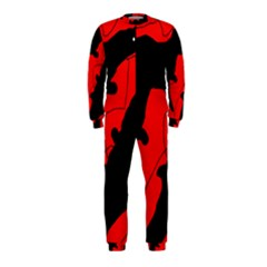 Black and red lizard  OnePiece Jumpsuit (Kids)