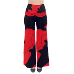 Black and red lizard  Pants
