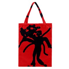 Abstract man Classic Tote Bag
