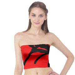 Abstract man Tube Top