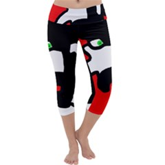Man Capri Yoga Leggings