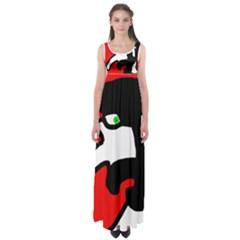 Man Empire Waist Maxi Dress