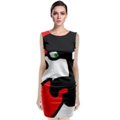 Man Classic Sleeveless Midi Dress
