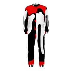 Red, black and white OnePiece Jumpsuit (Kids)