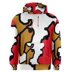 Artistic cow Men s Pullover Hoodie
