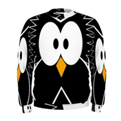 Black owl Men s Sweatshirt
