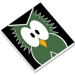 Green owl Small Memo Pads