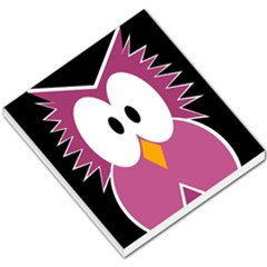 Pink owl Small Memo Pads