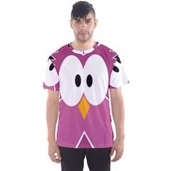 Pink owl Men s Sport Mesh Tee