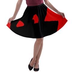 Bear A-line Skater Skirt