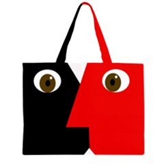 Kiss Large Tote Bag
