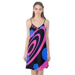 Pink and blue twist Camis Nightgown