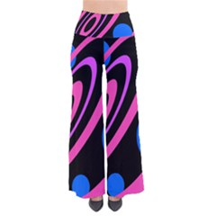 Pink and blue twist Pants