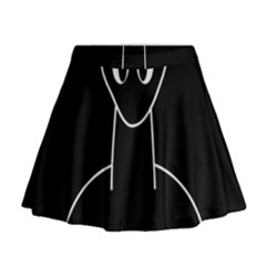 Dinosaur  Mini Flare Skirt