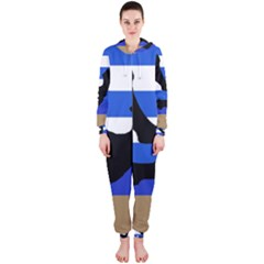 Anchor Hooded Jumpsuit (Ladies)