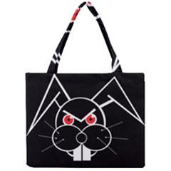 Evil rabbit Mini Tote Bag