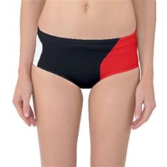 Man Mid-Waist Bikini Bottoms