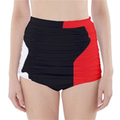 Man High-Waisted Bikini Bottoms