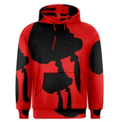 Red and black abstraction Men s Pullover Hoodie