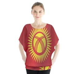 Flag Of Kyrgyzstan Blouse