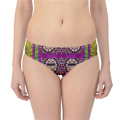 Rainbow Love For The Nature And Sunset In Calm And Steady State Hipster Bikini Bottoms