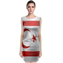 Flag Of Northern Cyprus Classic Sleeveless Midi Dress