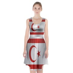 Flag Of Northern Cyprus Racerback Midi Dress