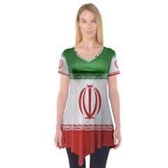 Flag Of Iran Short Sleeve Tunic