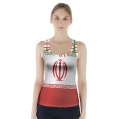 Flag Of Iran Racer Back Sports Top
