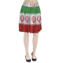 Flag Of Iran Pleated Skirt