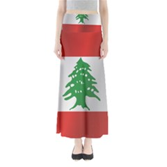 Flag Of Lebanon Maxi Skirts