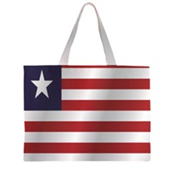 Flag Of Liberia Large Tote Bag