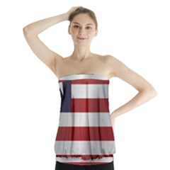 Flag Of Liberia Strapless Top