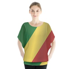 Flag Of Republic Of The Congo Blouse