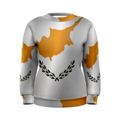 Flag Of Cyprus Women s Sweatshirt