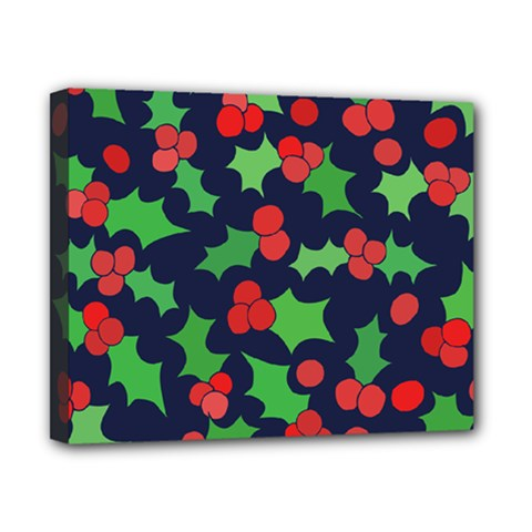 Holly Jolly Christmas Canvas 10  x 8