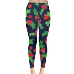 Holly Jolly Christmas Leggings