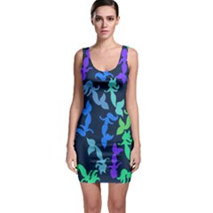 Mermaids Sleeveless Bodycon Dress