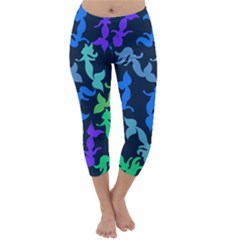 Mermaids Capri Winter Leggings