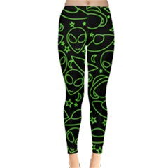 Alien Invasion  Winter Leggings